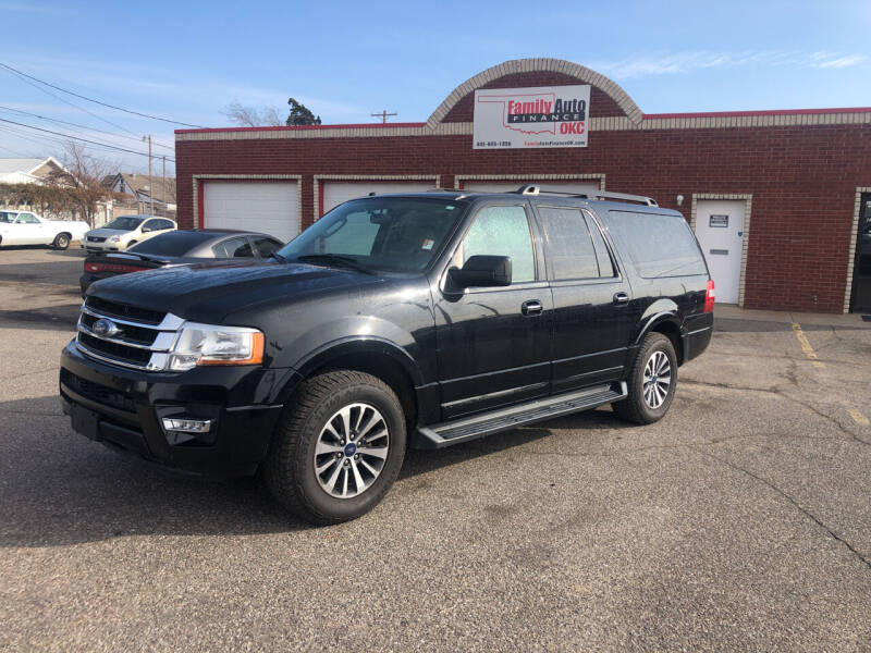 2016 Ford Expedition EL for sale at Family Auto Finance OKC LLC in Oklahoma City OK