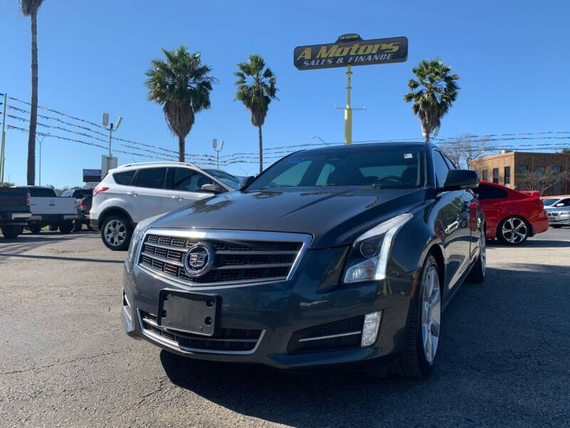 2013 Cadillac ATS for sale at A MOTORS SALES AND FINANCE in San Antonio TX