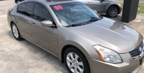 2008 Nissan Maxima for sale at Moye's Auto Sales Inc. in Leesburg FL