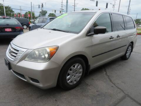 2008 Honda Odyssey for sale at Bells Auto Sales in Hammond IN