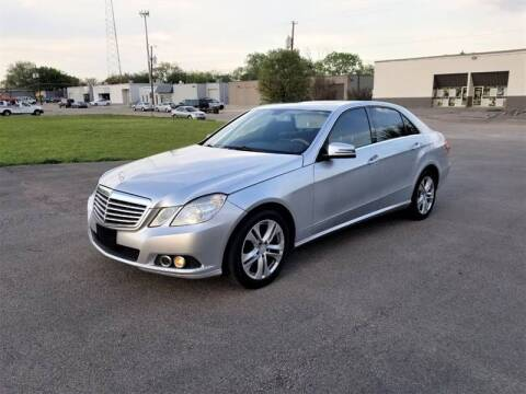 2010 Mercedes-Benz E-Class for sale at Image Auto Sales in Dallas TX