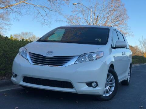 2015 Toyota Sienna for sale at William D Auto Sales in Norcross GA