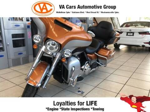 2014 Harley-Davidson Touring for sale at VA Cars Inc in Richmond VA