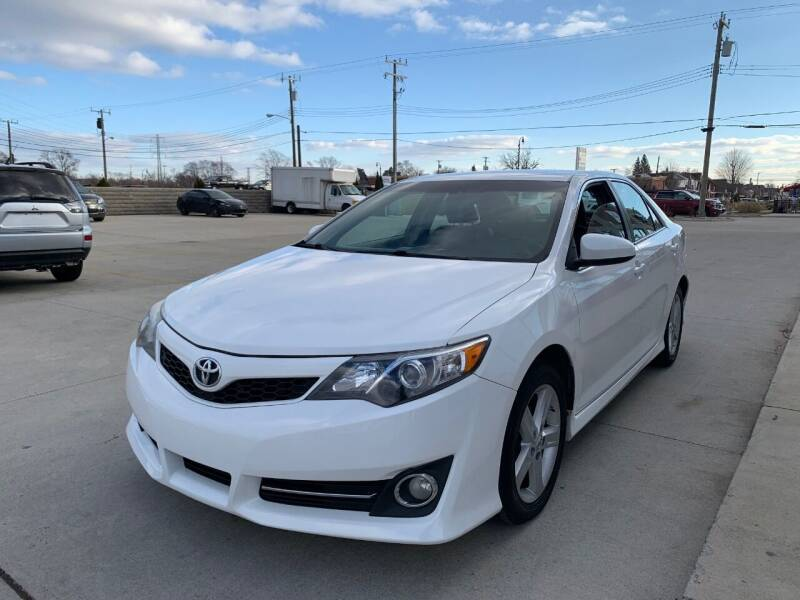 2012 Toyota Camry for sale at Crooza in Dearborn MI