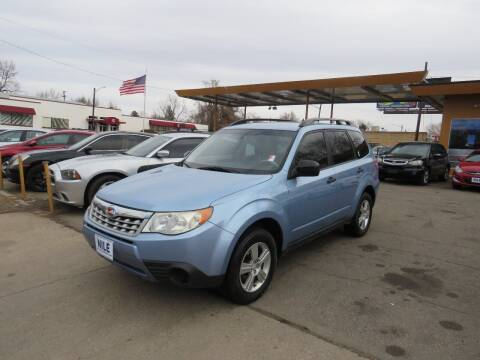 2011 Subaru Forester for sale at Nile Auto Sales in Denver CO