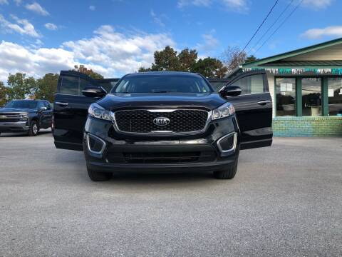 2016 Kia Sorento for sale at Morristown Auto Sales in Morristown TN
