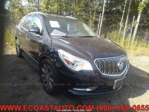 2016 Buick Enclave for sale at East Coast Auto Source Inc. in Bedford VA