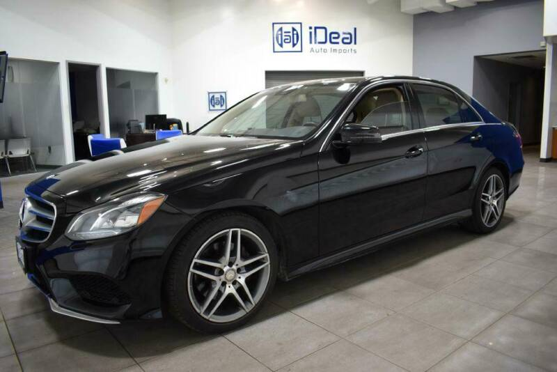 2014 Mercedes-Benz E-Class for sale at iDeal Auto Imports in Eden Prairie MN