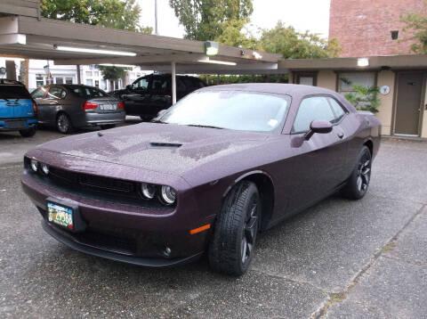 2021 Dodge Challenger for sale at Eastside Motor Company in Kirkland WA