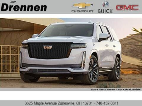 2021 Cadillac Escalade for sale at Jeff Drennen GM Superstore in Zanesville OH