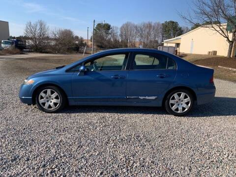 2007 Honda Civic for sale at MEEK MOTORS in North Chesterfield VA