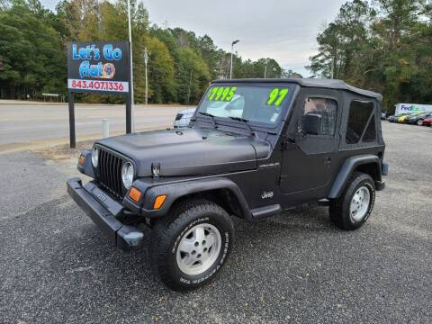 1997 Jeep Wrangler for sale at Let's Go Auto in Florence SC