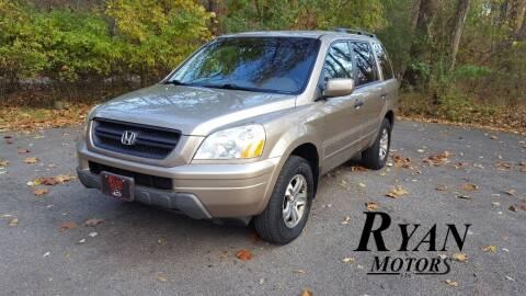 2004 Honda Pilot for sale at Ryan Motors LLC in Warsaw IN