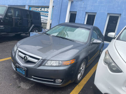 2008 Acura TL for sale at Ideal Cars in Hamilton OH