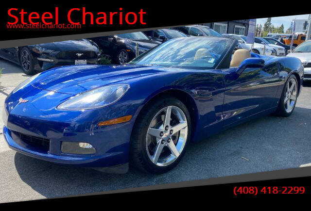 2006 Chevrolet Corvette for sale at Steel Chariot in San Jose CA