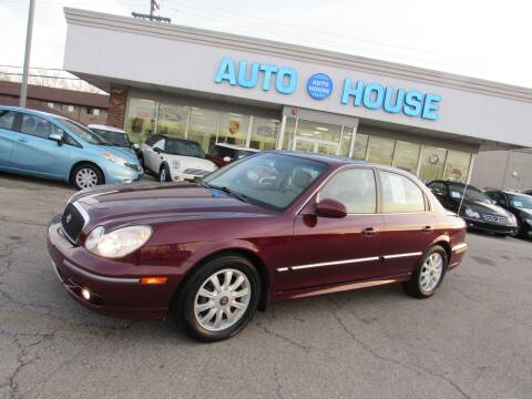 2004 Hyundai Sonata for sale at Auto House Motors in Downers Grove IL