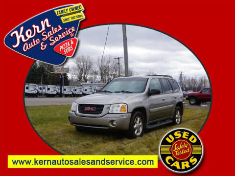 2002 GMC Envoy for sale at Kern Auto Sales & Service LLC in Chelsea MI