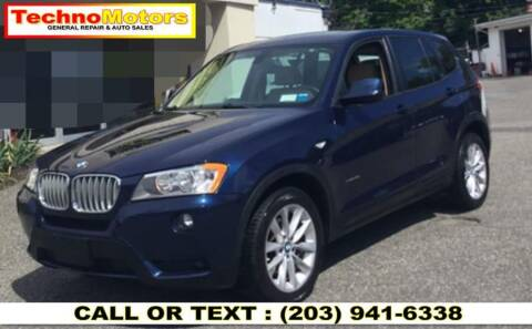 2014 BMW X3 for sale at Techno Motors in Danbury CT