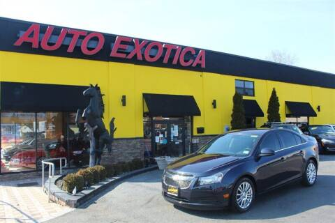 2014 Chevrolet Cruze for sale at Auto Exotica in Red Bank NJ