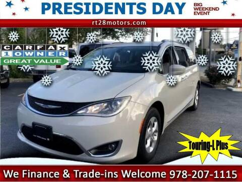 2017 Chrysler Pacifica for sale at RT28 Motors in North Reading MA