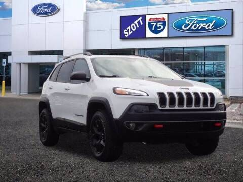 2017 Jeep Cherokee for sale at Szott Ford in Holly MI