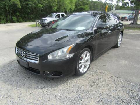 2012 Nissan Maxima for sale at Bullet Motors Charleston Area in Summerville SC