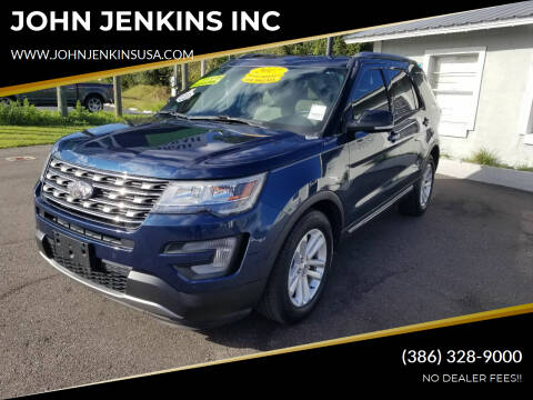 2017 Ford Explorer for sale at JOHN JENKINS INC in Palatka FL