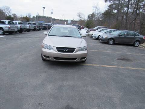 2007 Hyundai Sonata for sale at Heritage Truck and Auto Inc. in Londonderry NH