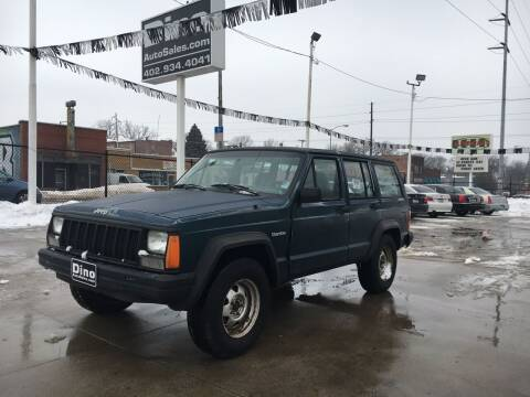 1996 Jeep Cherokee for sale at Dino Auto Sales in Omaha NE