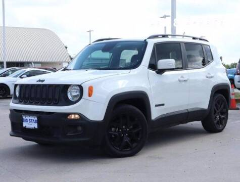 2017 Jeep Renegade for sale at BIG STAR HYUNDAI in Houston TX