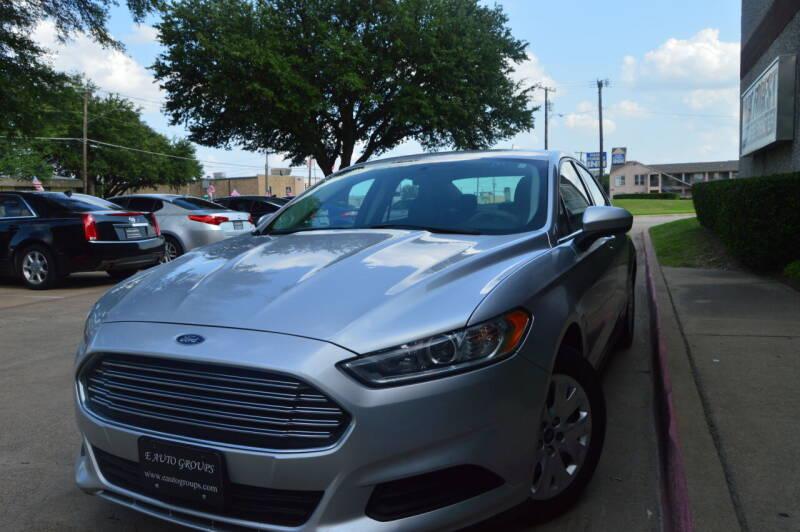 2014 Ford Fusion for sale at E-Auto Groups in Dallas TX