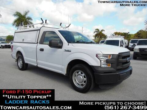 2016 Ford F-150 for sale at Town Cars Auto Sales in West Palm Beach FL