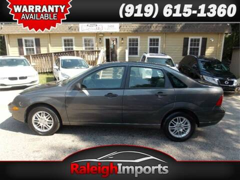 2007 Ford Focus for sale at Raleigh Imports in Raleigh NC