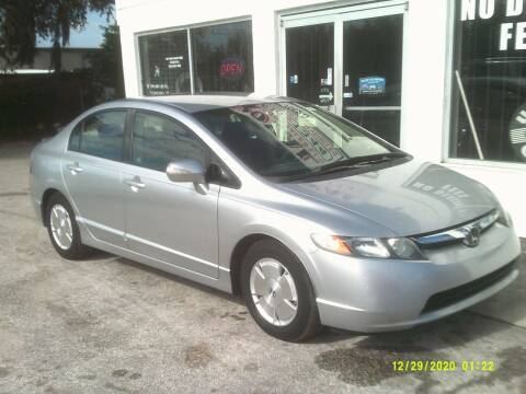 2008 Honda Civic for sale at ROYAL MOTOR SALES LLC in Dover FL