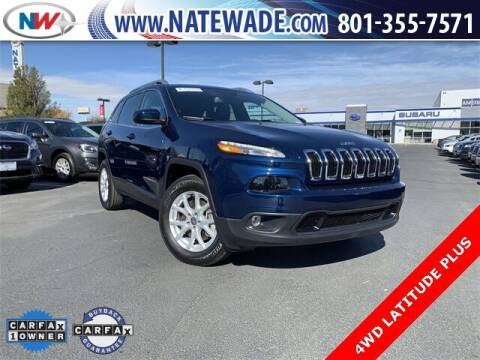 2018 Jeep Cherokee for sale at NATE WADE SUBARU in Salt Lake City UT
