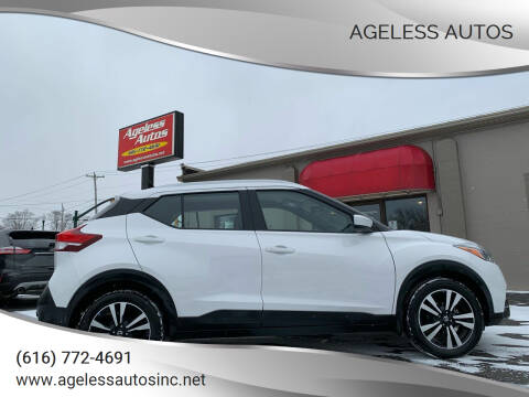 2019 Nissan Kicks for sale at Ageless Autos in Zeeland MI