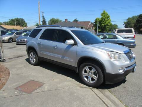 2009 GMC Acadia for sale at Car Link Auto Sales LLC in Marysville WA