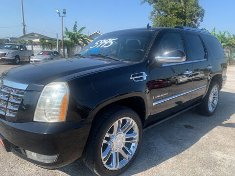 2008 Cadillac Escalade for sale at FAIR DEAL AUTO SALES INC in Houston TX