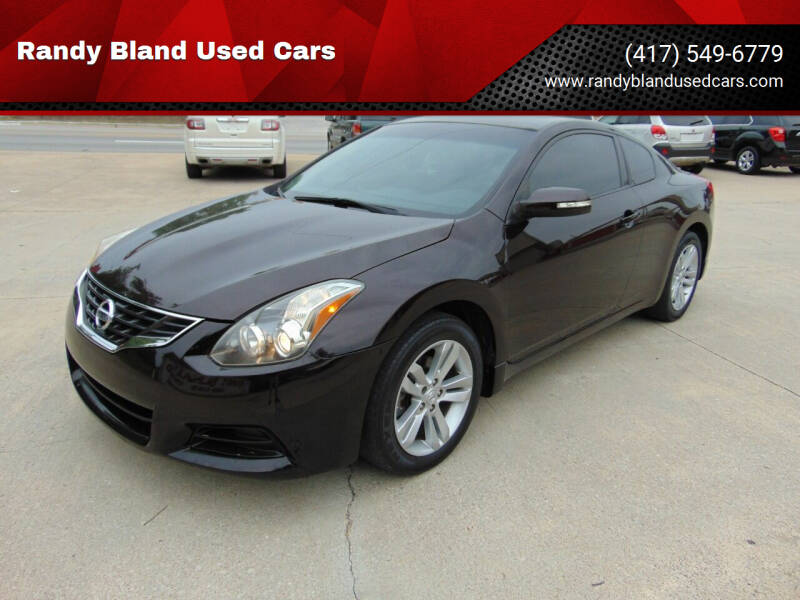 2011 Nissan Altima for sale at Randy Bland Used Cars in Nevada MO