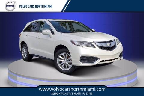 2017 Acura RDX for sale at Volvo Cars North Miami in Miami FL