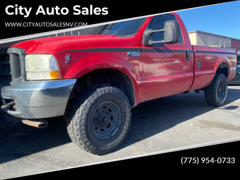 2002 Ford F-250 Super Duty for sale at City Auto Sales in Sparks NV