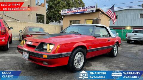 1985 Ford Mustang for sale at San Diego Auto Traders in San Diego CA