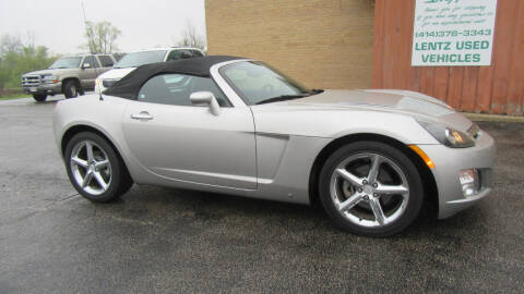 2007 Saturn SKY for sale at LENTZ USED VEHICLES INC in Waldo WI