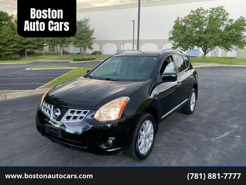 2013 Nissan Rogue for sale at Boston Auto Cars in Dedham MA