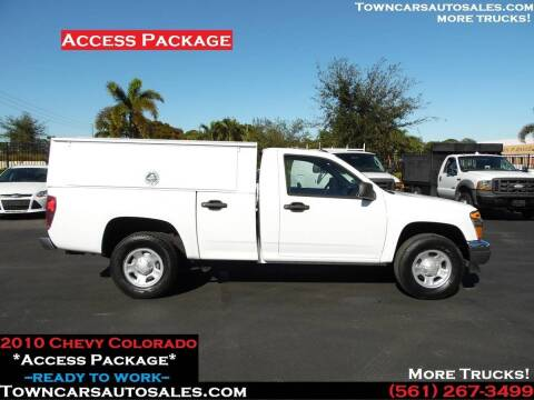 2010 Chevrolet Colorado for sale at Town Cars Auto Sales in West Palm Beach FL