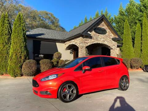 2014 Ford Fiesta for sale at Hoyle Auto Sales in Taylorsville NC