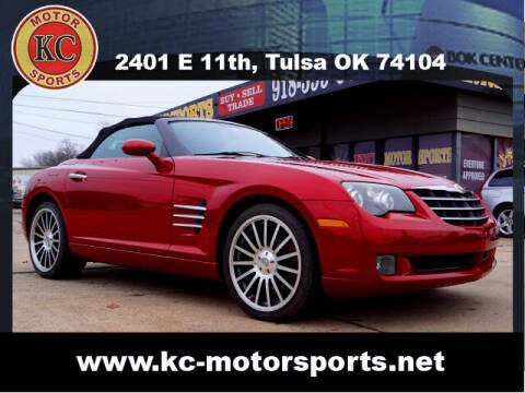 2007 Chrysler Crossfire for sale at KC MOTORSPORTS in Tulsa OK