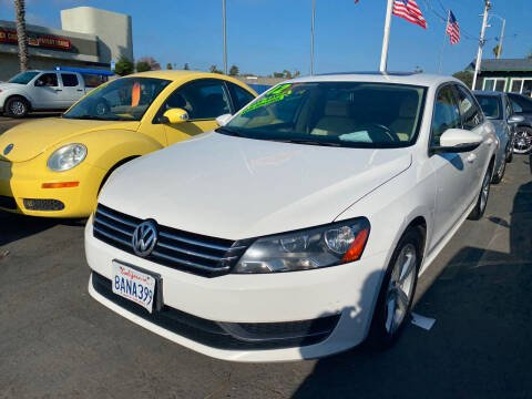 2012 Volkswagen Passat for sale at North County Auto - North Auto County 2 in Vista CA
