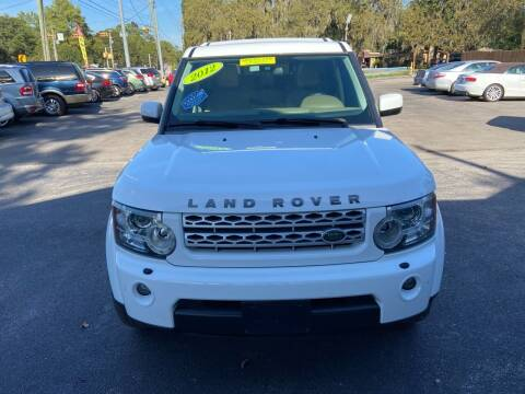 2012 Land Rover LR4 for sale at QUALITY PREOWNED AUTO in Houston TX