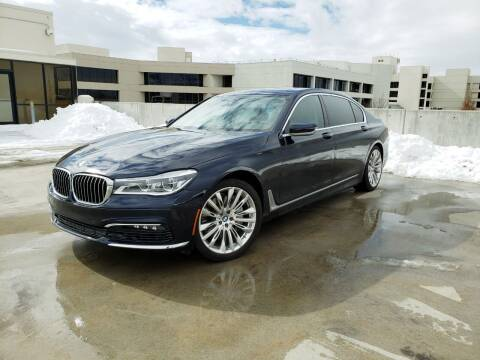2016 BMW 7 Series for sale at High Line Auto Sales in Salt Lake City UT